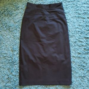 36ab2af84b6 Shape FX Sexy Black Corset Pencil Skirt Sz 4